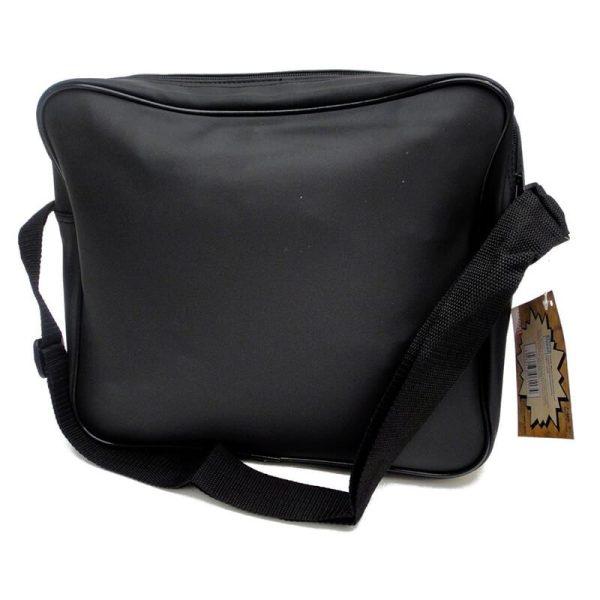 Marvel Comics Black & White Messenger Bag Back