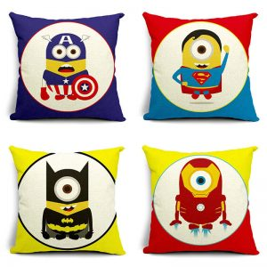 Minions Superhero Pillow Cases