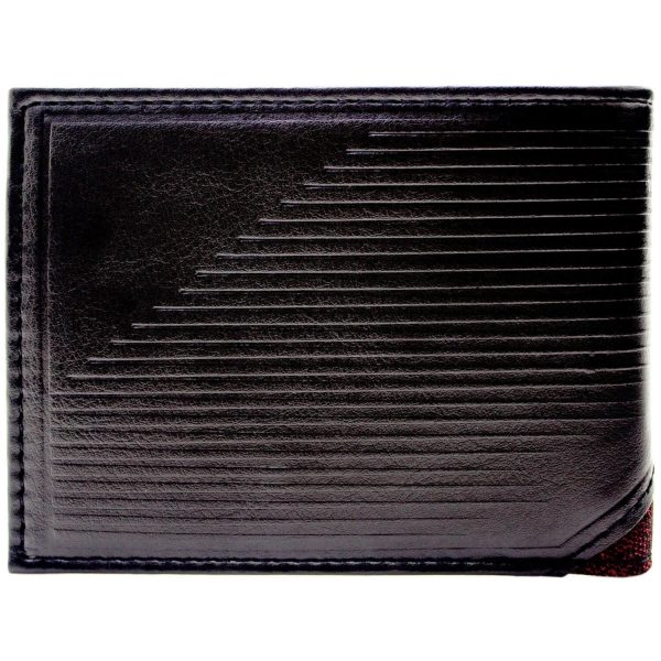 The Flash Textured Wallet Back