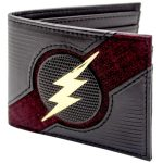 The Flash Textured Wallet Open