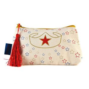 Wonder Woman Makeup Bag back