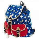 Wonder Woman Stars Backpack side