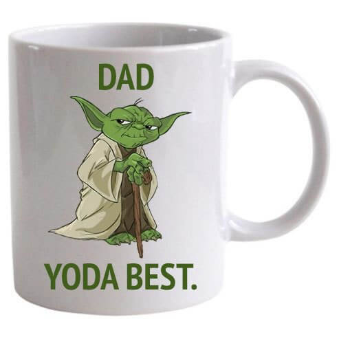 Dad Yoda The Best Mug