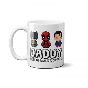Daddy You're My Favourite Superhero Mug