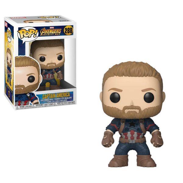 Infinity War Captain America POP! Figure 2