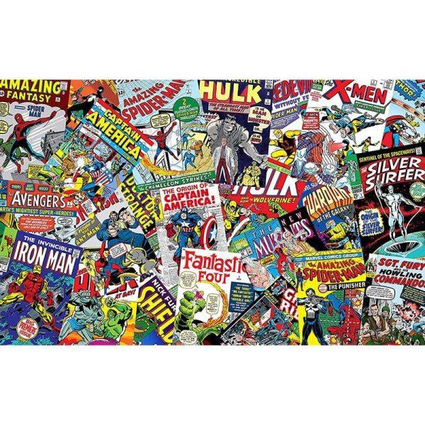 Marvel Comics Collage Canvas 2