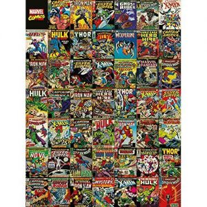 Marvel Comics Covers Canvas
