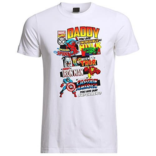 Marvel Daddy You Are Our Superhero T-Shirt