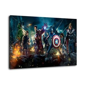 Marvel Heroes Canvas