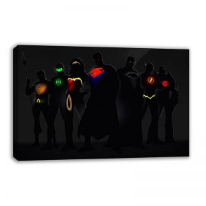 Marvel & DC Superheroes Canvas