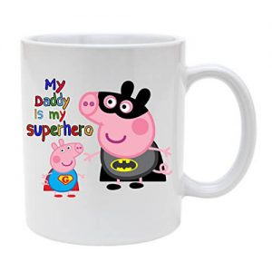 Peppa Pig My Daddy is My Superhero