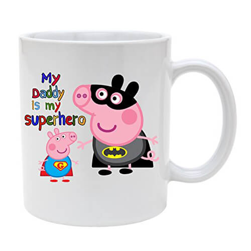 Peppa Pig My Daddy is My Superhero