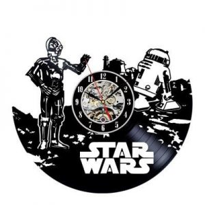 Star Wars Movie Vinyl Clock