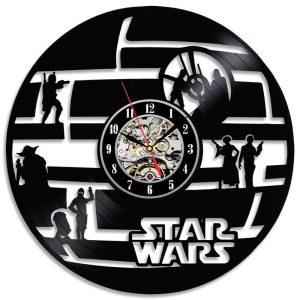 Stars Wars Vinyl Clock
