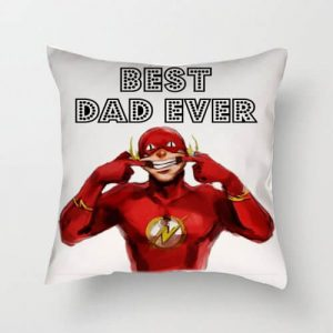 Funny Best Dad Ever The Flash Cushion