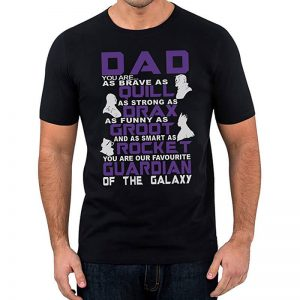 Guardians of the Galaxy Father's Day T-Shirt