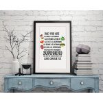 Personalised Superhero Framed Print2