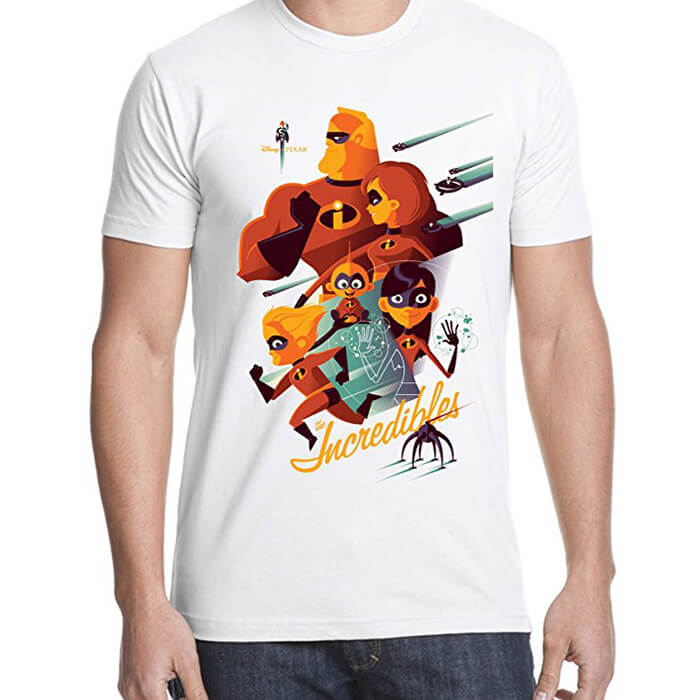 The Incredibles Water Colour T-Shirt