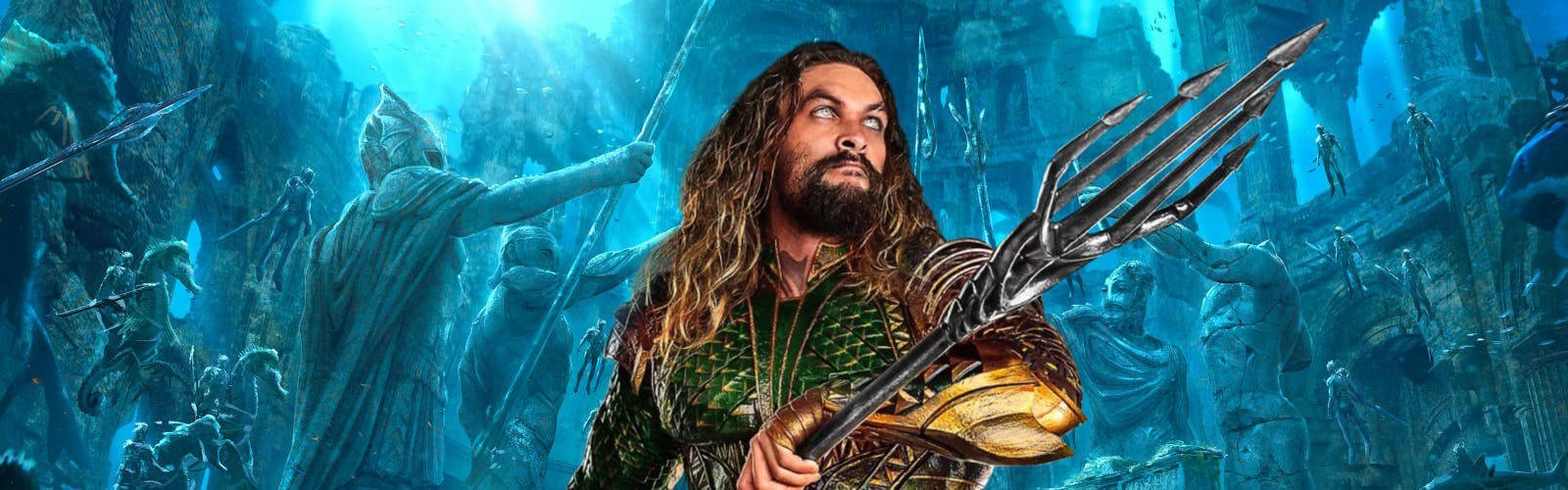 DC's Aquaman trailer is here and it goes all out!