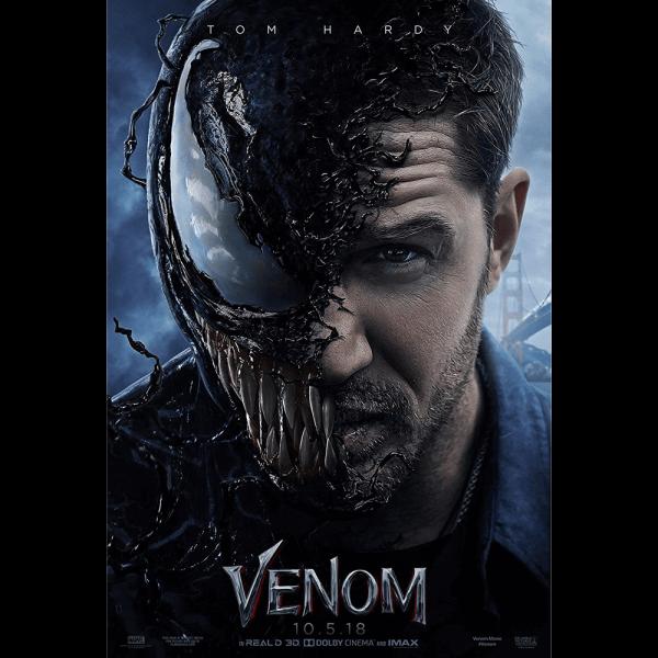 Venom 2018 Movie Poster Print Canvas