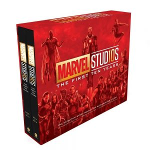 Marvel Studios: The First Ten Years Book Set Cover