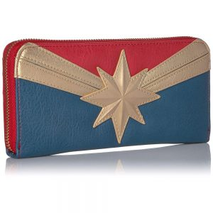 Captain Marvel Loungefly Woman's Purse Front
