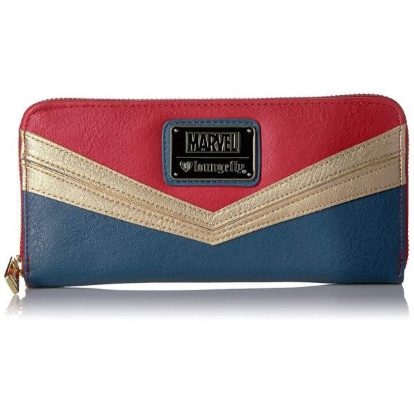 Captain Marvel Loungefly Woman's Purse Back
