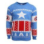 Marvel Captain America Christmas Jumper