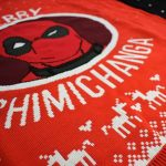 Marvel Deadpool Merry Chimichanga Christmas Jumper