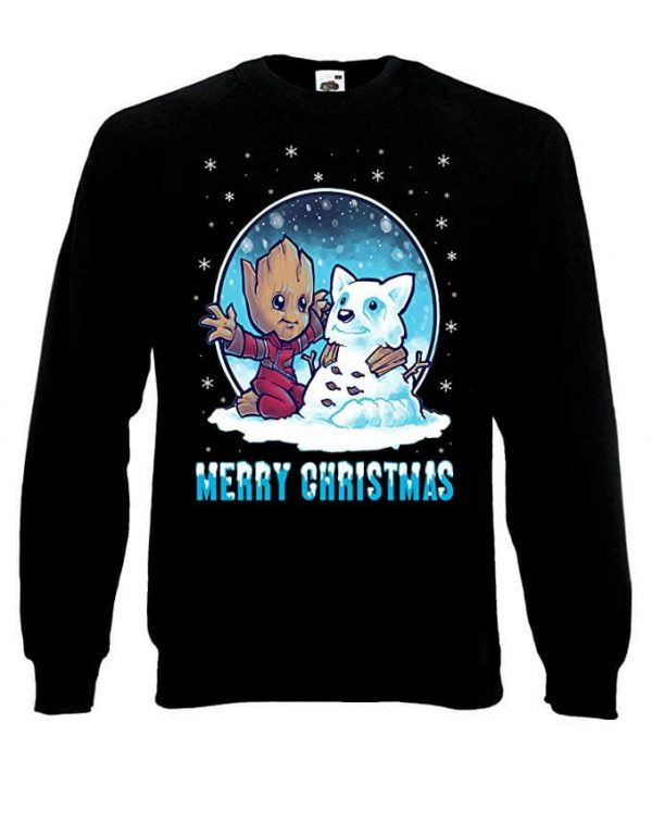 Marvel Groot Guardians of The Galaxy Christmas Black