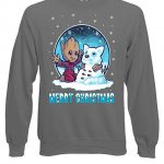 Marvel Groot Guardians of The Galaxy Christmas Grey
