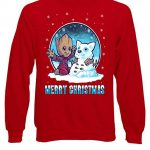 Marvel Groot Guardians of The Galaxy Christmas Red