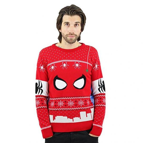 Marvel Spiderman Christmas Jumper