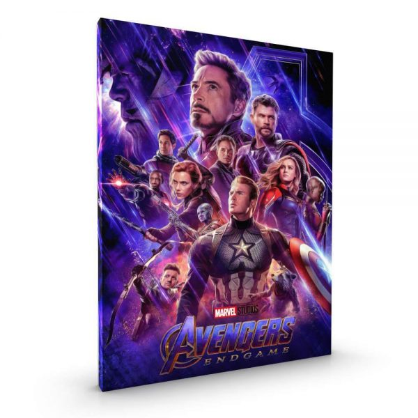 Avengers Endgame Glossy Canvas