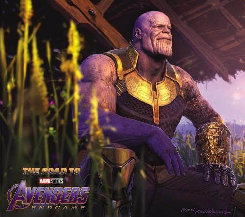 The Road to Marvel's Avengers: Endgame - the Art of the Marvel Cinematic Universe Hardback Book