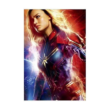 Handmade Captain Marvel Canvas Print