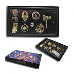 Avengers End Game Keyring set 2