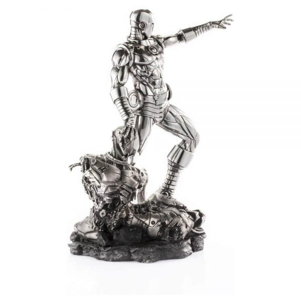 Iron Man and Ultron Figurine Rare Collectible side