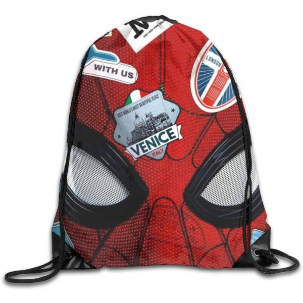 Spiderman far from home drawstring bag