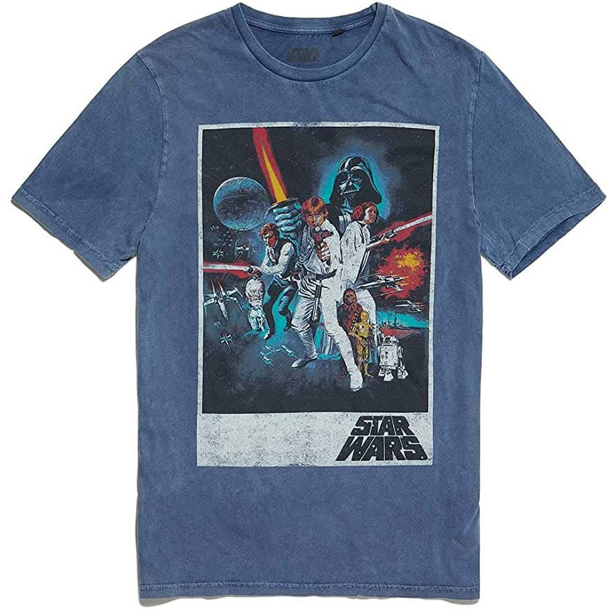 Fathers Day Star Wars Retro T-shirt