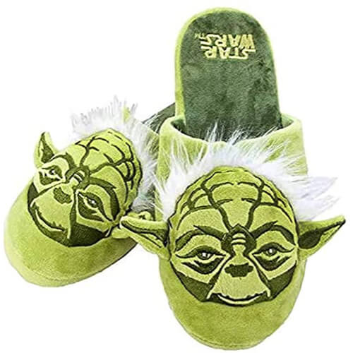 Father's Day Star Wars Yoda Slippers